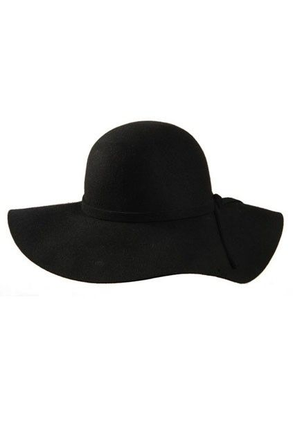 Elegant Waved Brim Woolen French Hat - OASAP.com  3bf4cc95503