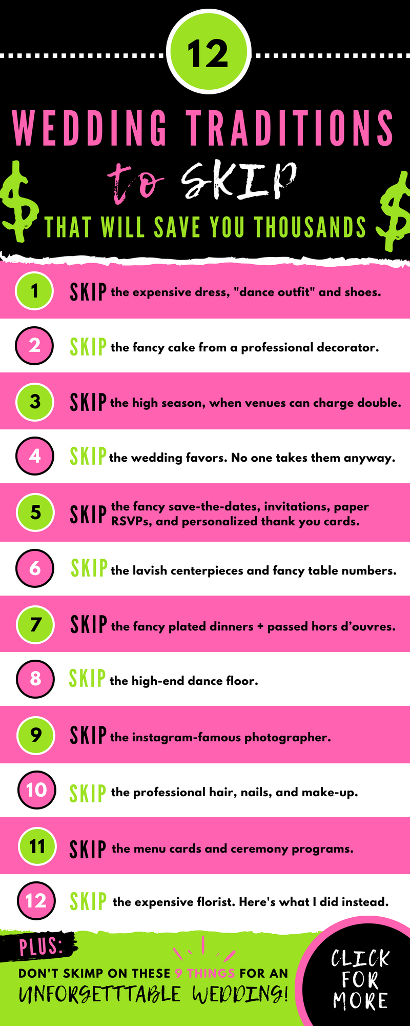 Budget Wedding Planning 101: What To Skip (and where not to skimp ...