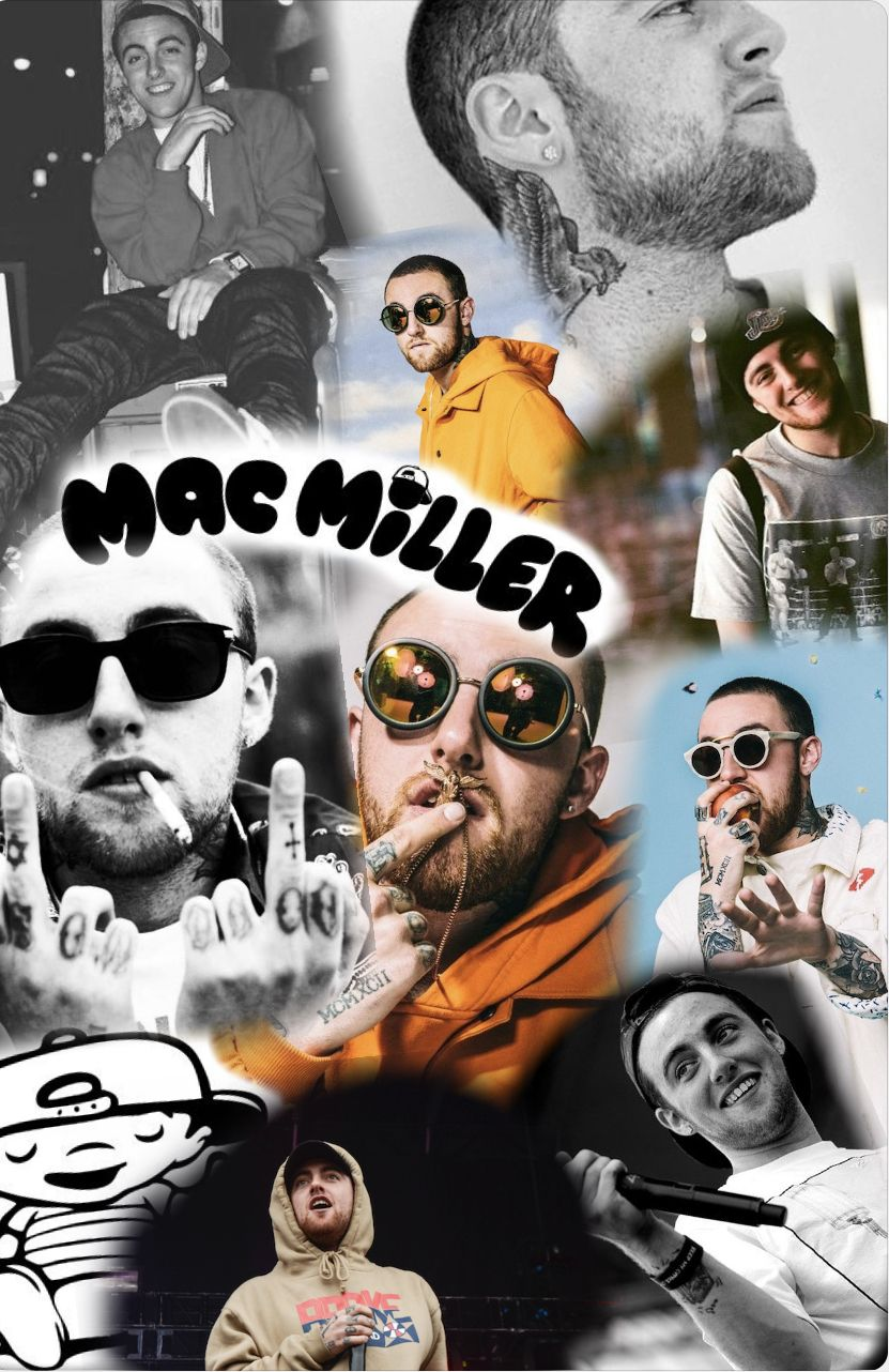MacMiller wallpaper collage collagewallpaper Mac