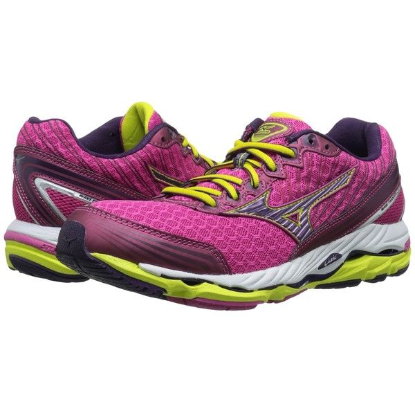 Mizuno Wave Paradox 2 (Fuchsia Purple/Shadow Purple/Bolt) Women's..  Lightweight Running ShoesParadoxAthletic ...
