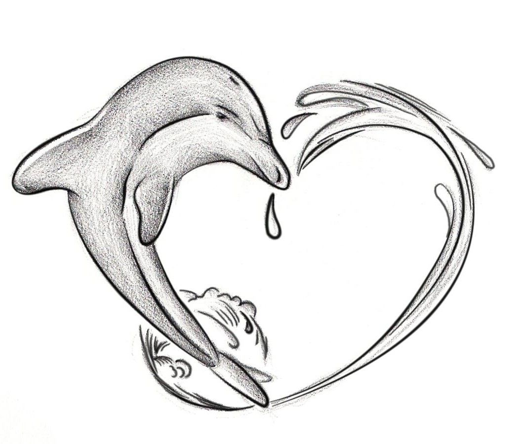 Pics photos dolphin tattoo design tattoos art and designs - Dolphin Tattoo