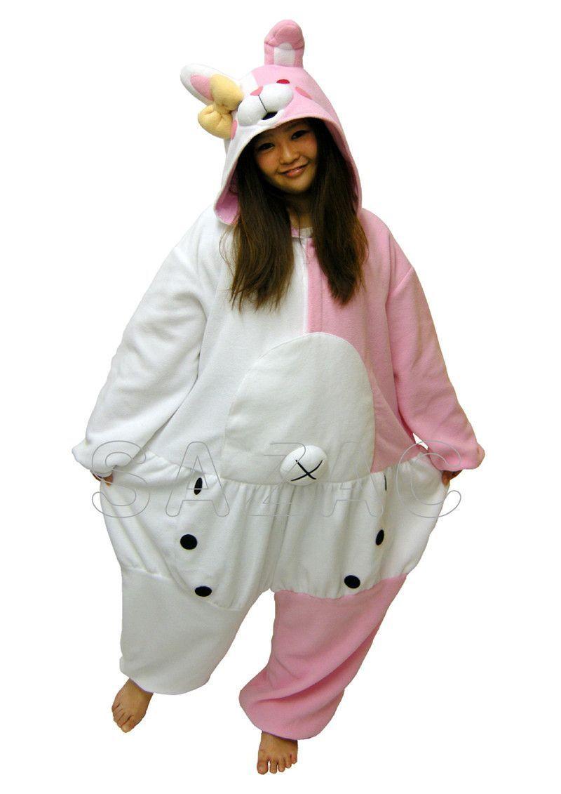 Fleece Onesie Pyjama Costume - Danganronpa Dangan Ronpa Monokuma