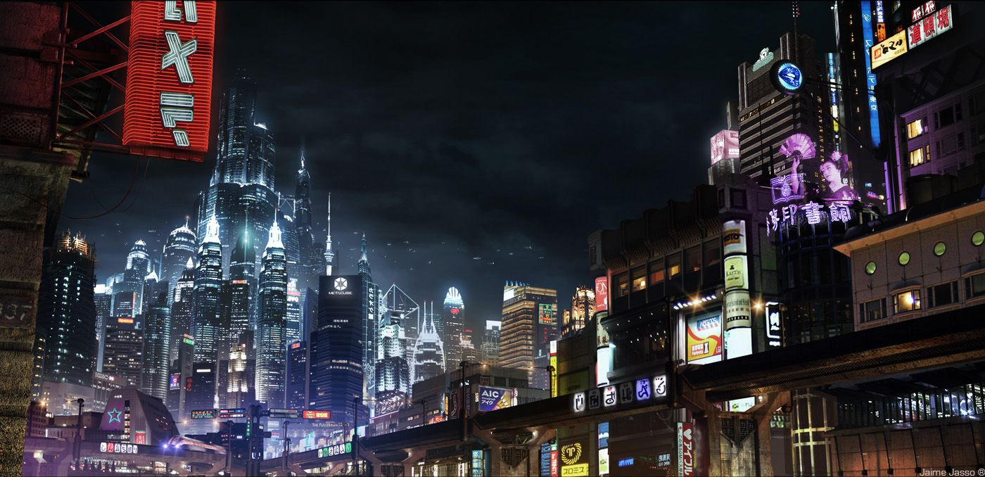 Thekno City In 2020 Futuristic City Cyberpunk City City Illustration