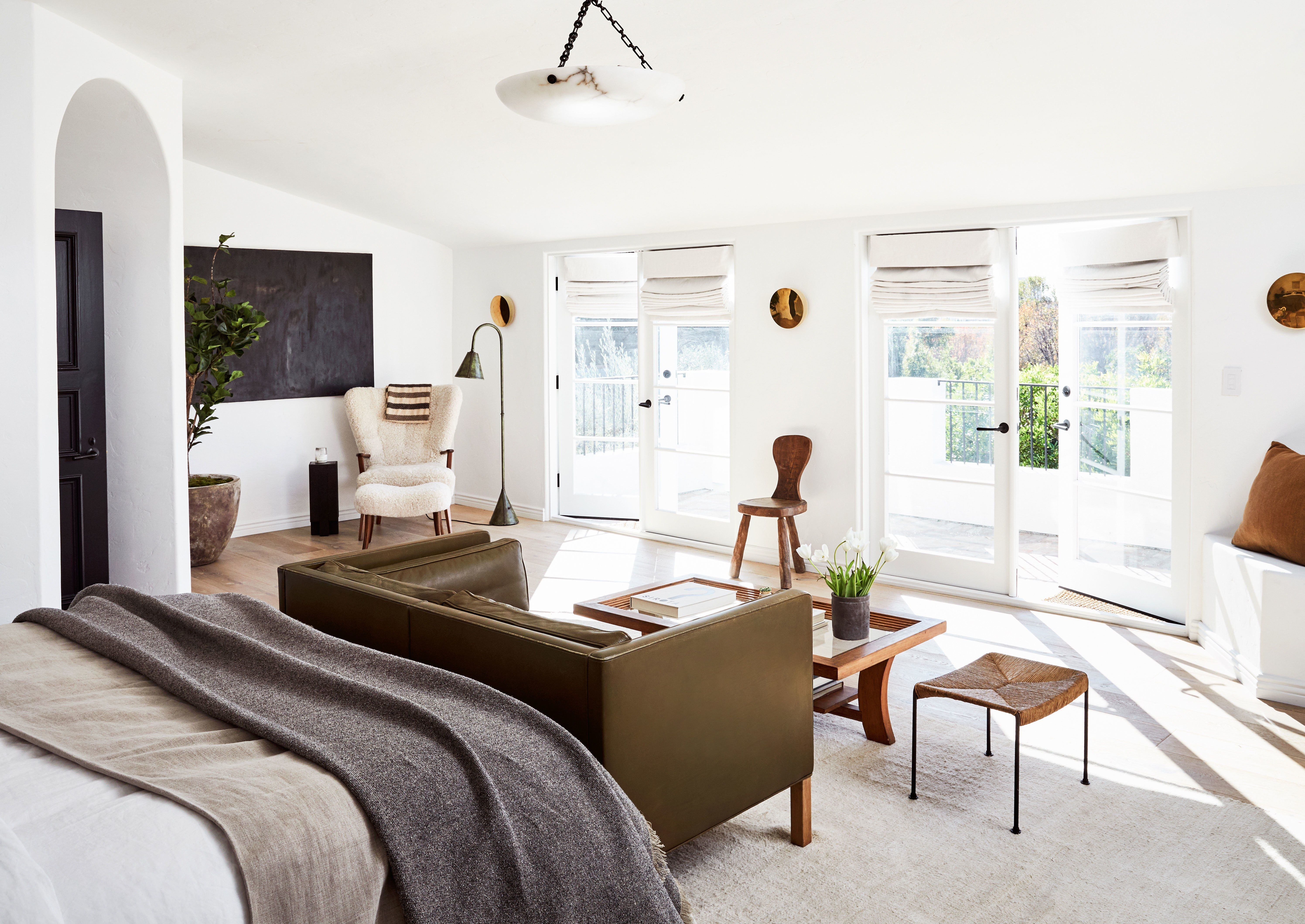 A Creative Power Couples Spanish Colonial Retreat In La Photos -