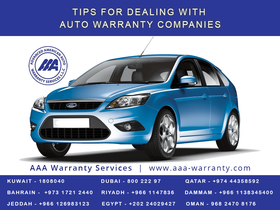 Tips For Dealing With Auto Warranty Companies Read The Warranty