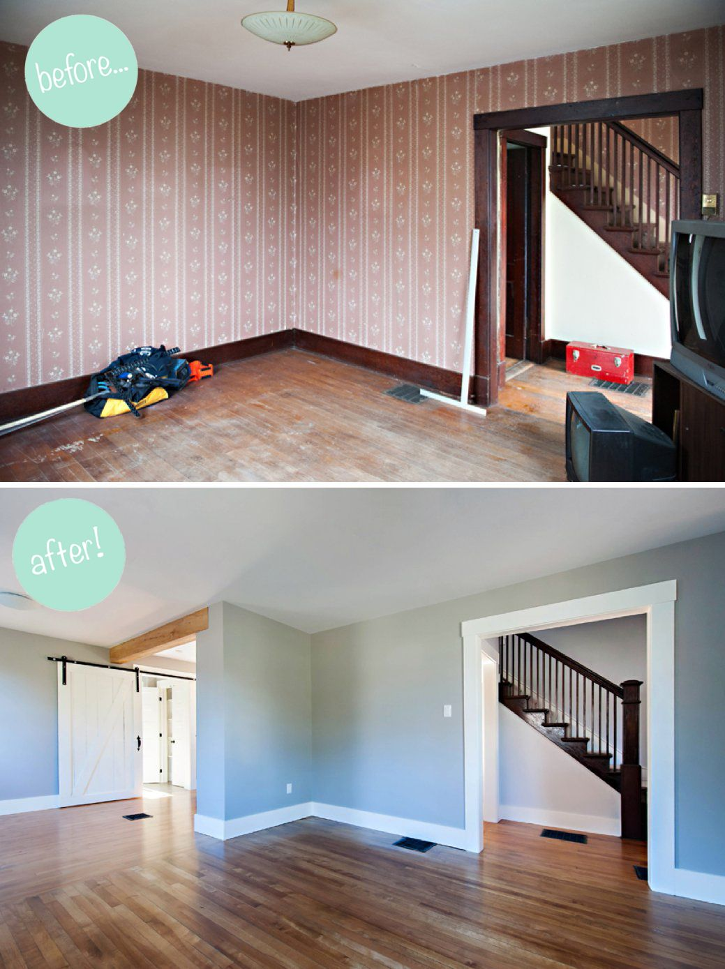 Old house interior remodel ideas