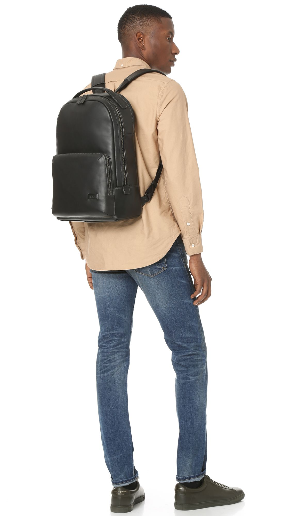 Tumi Harrison Webster leather - black  4743695a11744