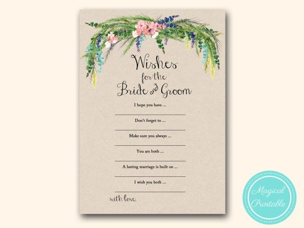 wishes for bride groom luau bridal shower games hawaiian tropical spring
