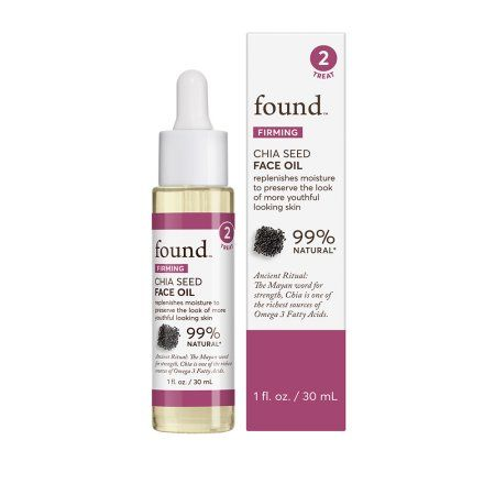 Found Firming Chia Seed Face Oil 1 Fl Oz Walmart Com In 2020 Face Oil Chia Seeds Skin Care Devices