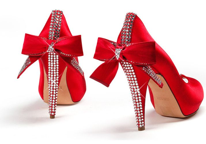 ebadd4e7ed4 Five Pairs of Shoes With Embellished Heels
