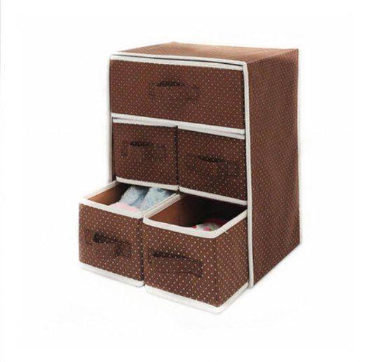 Household Essentials Storage Bin with Handles, Natural ...