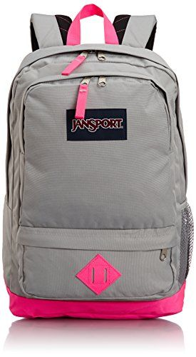 JanSport Women's Classic All Purpose Backpack, Fluorescent Pink ...