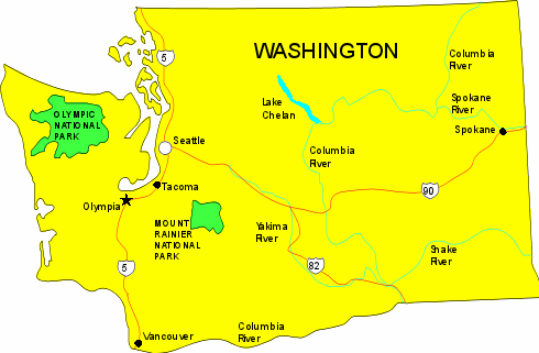1889 The State Of Washington Is Admitted As The 42nd State Of The United States Washington Washington Washington State Chelan