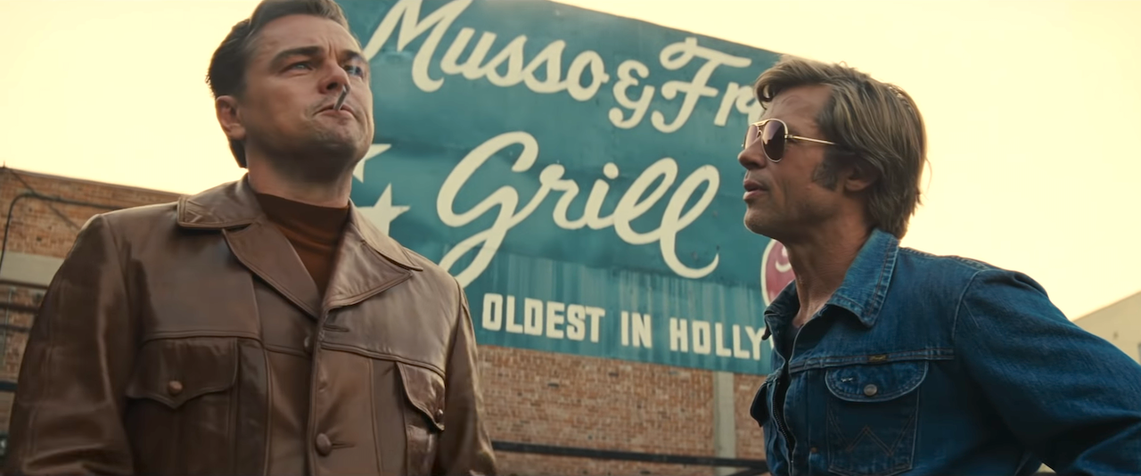 TV Star and His Stunt Double Explore the Last Days of the Golden Age in 'Once Upon a Time in Hollywood' #hollywoodgoldenage