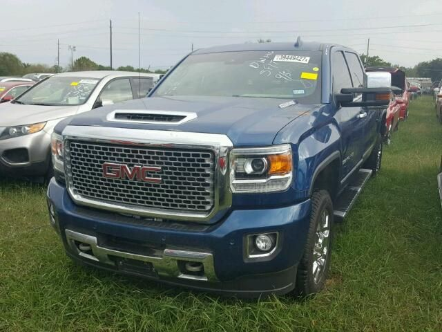 Salvage 2017 Gmc Sierra Denali Dream Cars Work Truck