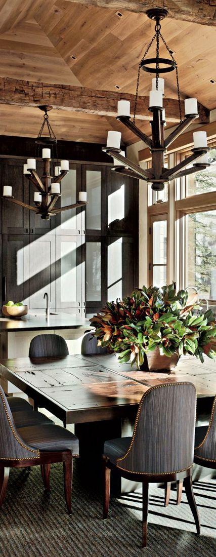 Kitchen Dining Interior Design: 30 Rustic Kitchens Designed By Top Interior Designers