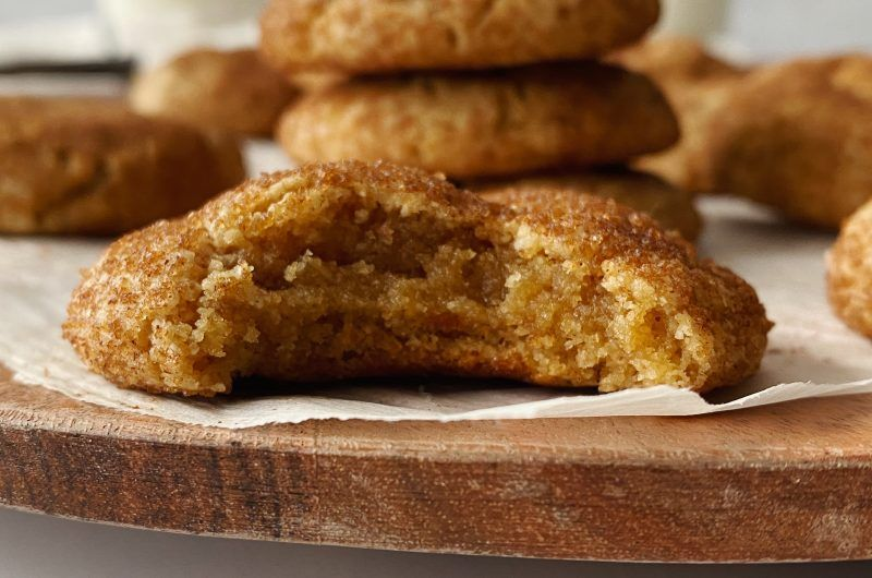 Gluten-free Snickerdoodle Cookies - Something Nutr