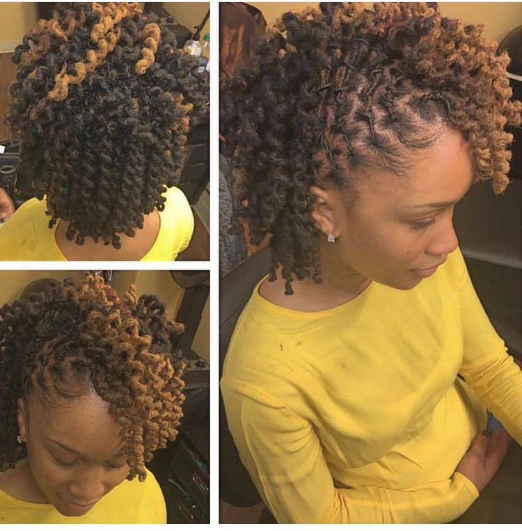 Pipe cleaners loc style | Black Hairstyles | Pinterest
