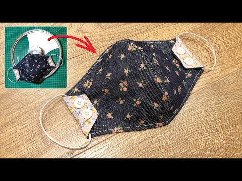 Photo of Making masks easy with pot/pan lid cover #4 | Face mask sewing tutorial | Face mask DIY