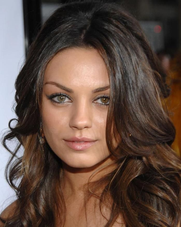 Wondrous Mila Kunis I Love That She Has Two Different Color Eyes Mila Hairstyles For Women Draintrainus