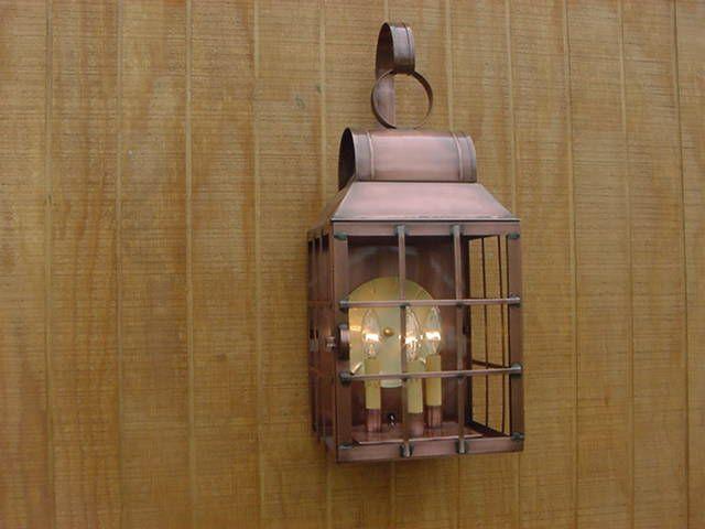 Copper Light Copper Lighting Primitive Lighting Lamp Light