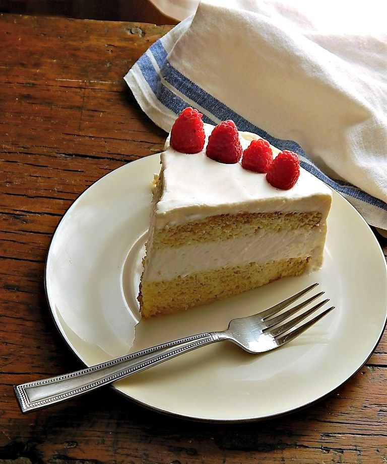 Cafe Latte's Tres Leches Cake