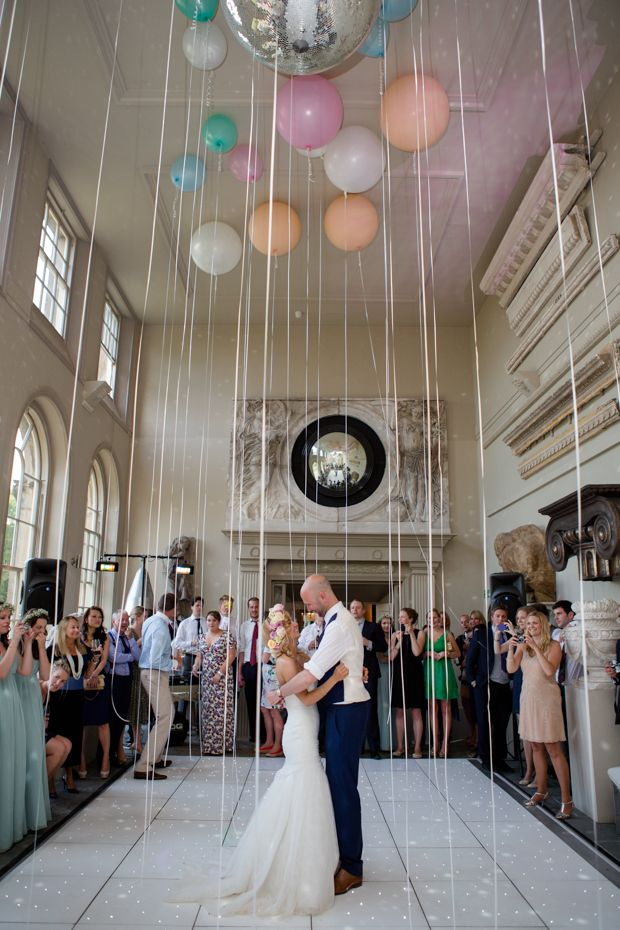 Gill and James' first dance by Lucy Davenport Photography | onefabday.com