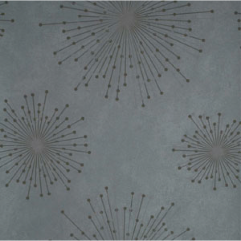 Grey with modern bursts wallpaper from the HGTV HOME by Sherwin