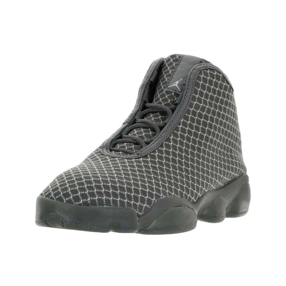 3a32ea1b668c eBay  Sponsored JORDAN Big Kid Boys Wolf Grey Horizon BG Sneakers 823583 Sz  7Y  120