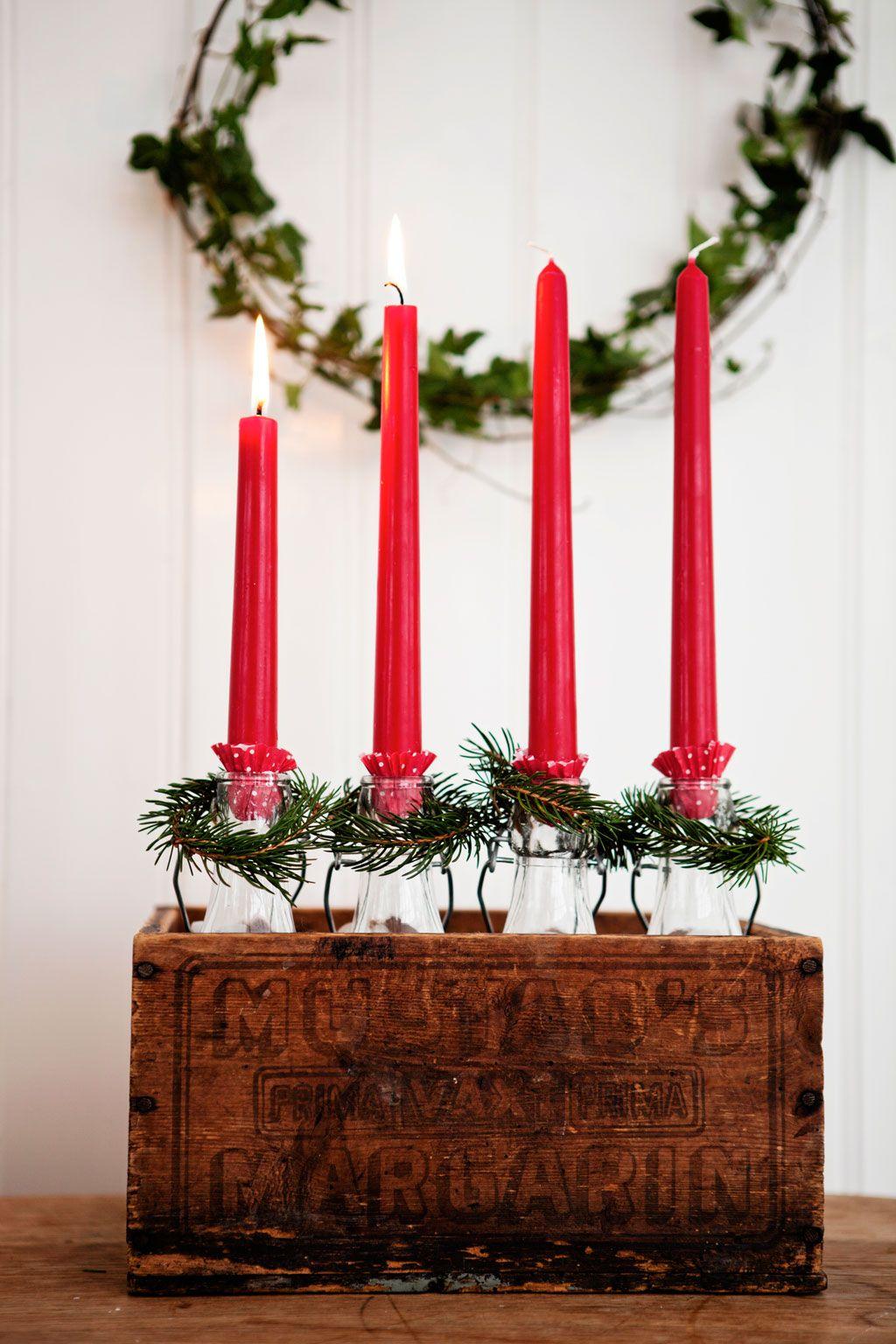 Decoracin navidea reciclada Nadal Pinterest Decoracin