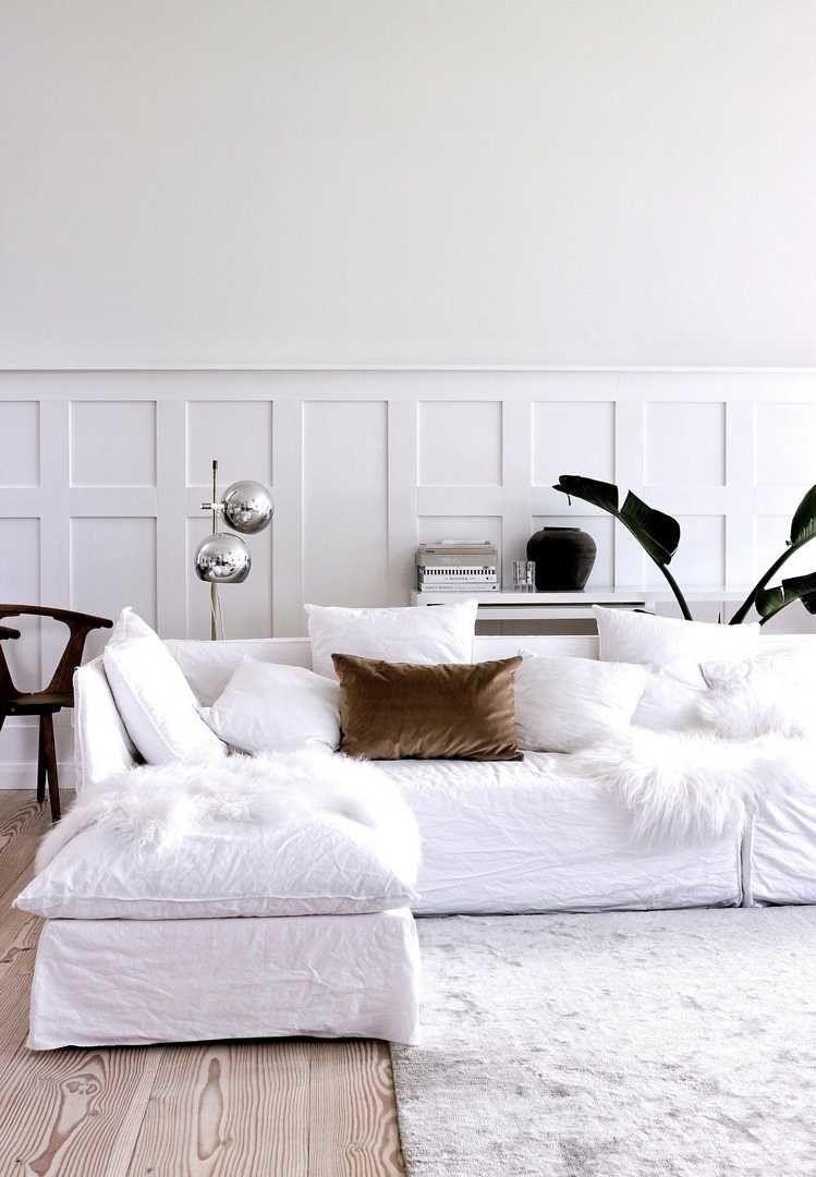 A Minimalist Scandinavian Winter White Home Aboutdecorationblog Bedroom Furniture Design Bedroom Furniture All White Room