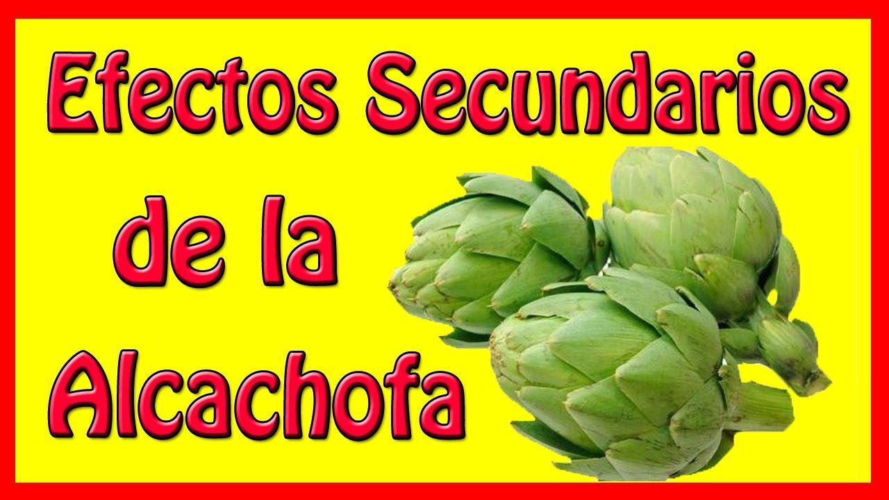 Efectos secundarios de la alcachofa