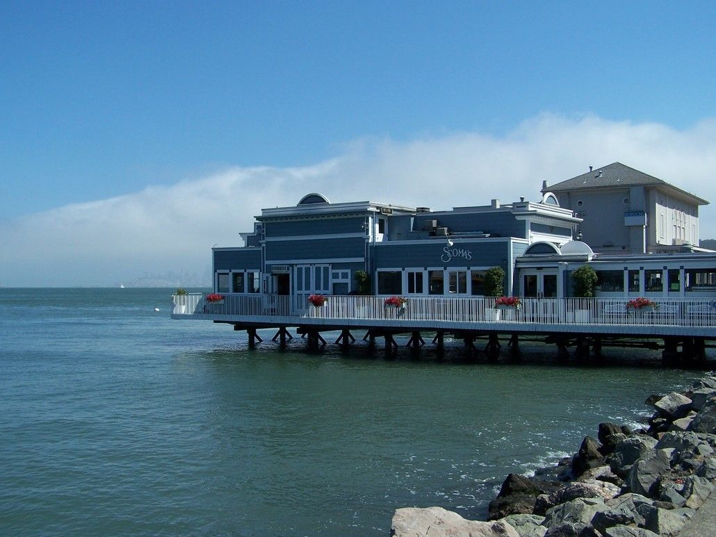 Sausalito Ca We Had Lunch At This Restaurant Places I