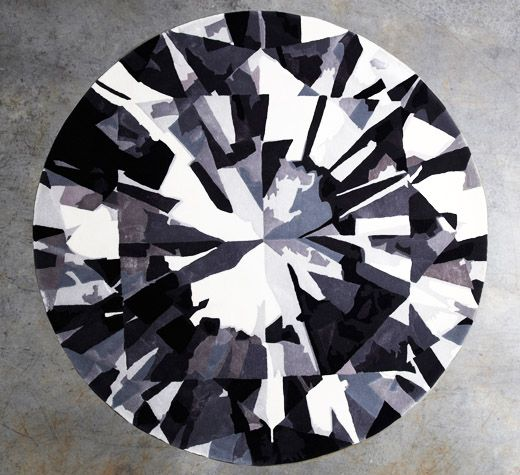 Round Diamond Rug Series From Emma Elizabeth Designs In Collaboration With Designer Rugs