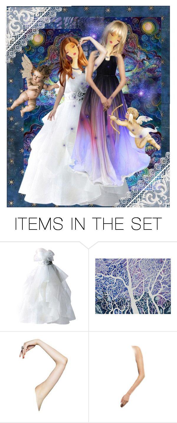 """""""Sisters"""" by morag667 ❤ liked on Polyvore featuring art"""