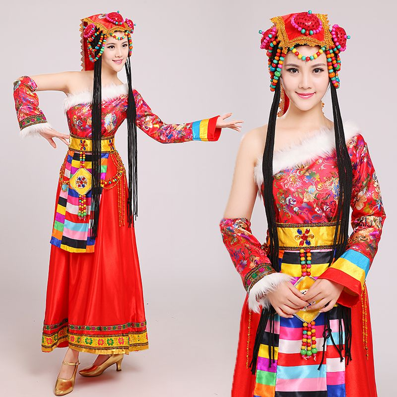 Chinese traditional national dress Mongolian Dance performance Clothing female costume Chinese dance costumes  sc 1 st  Pinterest & Chinese traditional national dress Mongolian Dance performance ...