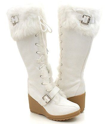 Winter Wedding Boots For Bride