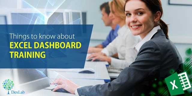 Things to know about #excel Dashboard training #Certification