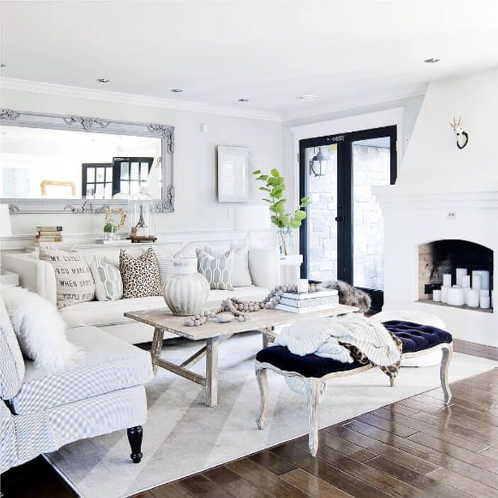 Beautiful Living Rooms On A Budget That Look Expensive: Home Sweet Home ... Love The Simplicity Of Neutrals