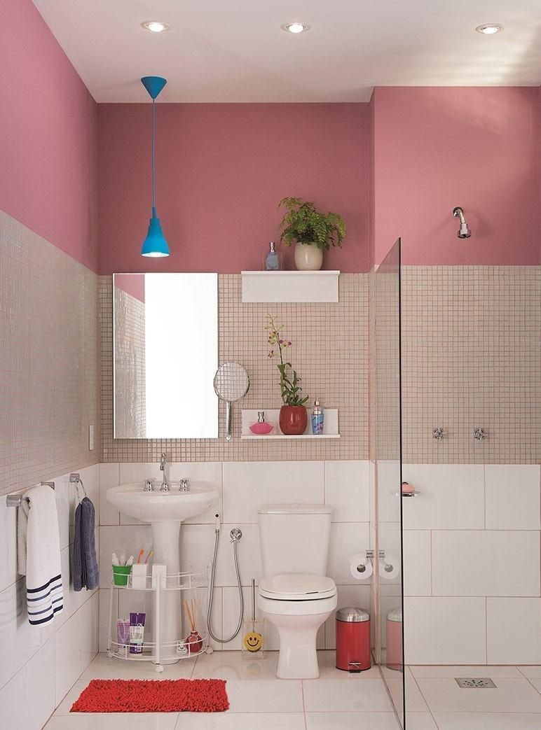 Rosa Badezimmer 60+ Designs & Dekoration Fotos   Neu ...