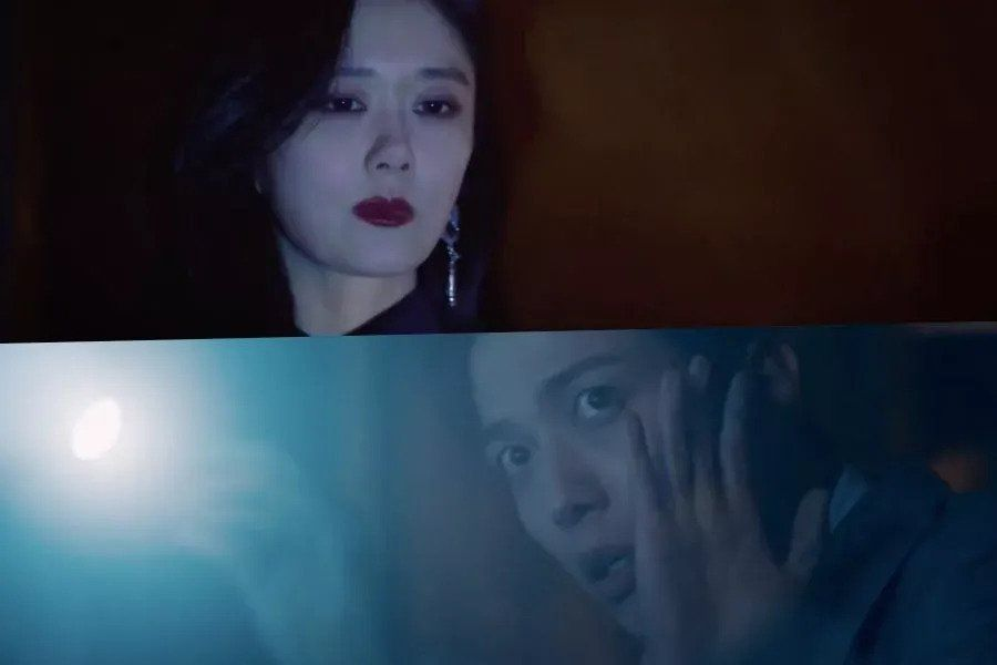 Watch: Jang Nara Gives Jung Yong Hwa A Fright In Spooky Teaser For Fantasy Drama