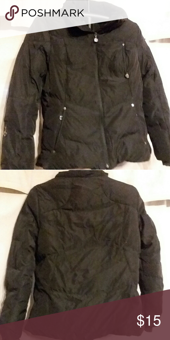 b20052839b5 Calvin Klein Ladies Black down coat size med Black Calvin Klein Ladies  winter coat size med