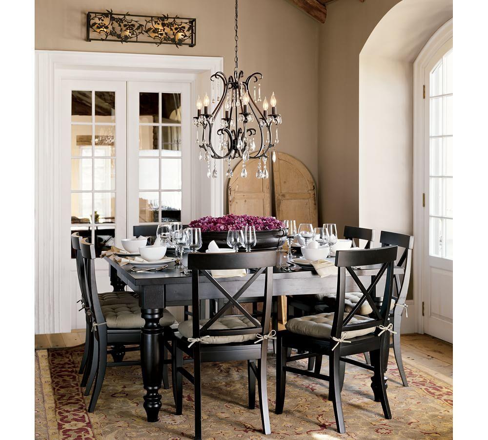 Celeste Chandelier  Tina  Pinterest  Chandeliers Wrought Iron Entrancing Chandelier Kitchen Design Decoration