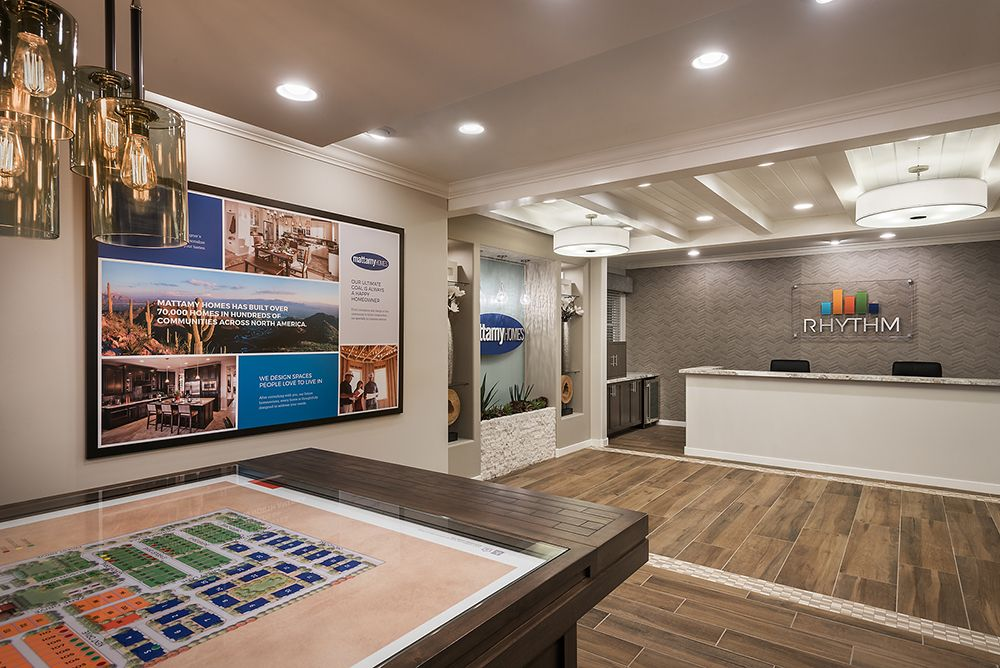 Rhythm Sales Office And Design Center In Tempe Arizona For Mattamy Homes Mame Award 2 Commercial Interior Design Commercial Interiors Interior Architecture
