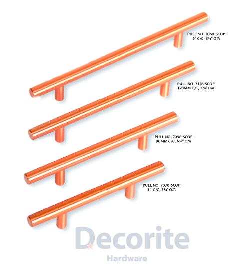 Copper Kitchen Cabinet Handles: Modern Copper Hardware, Stunning Pull Hardware, Inexpensive Hardware, Bin Pulls, Furniture Knobs