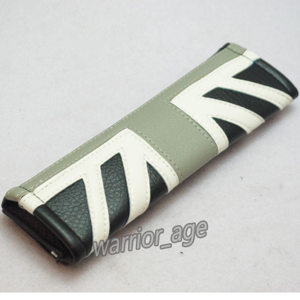 Mini cooper rubber floor mats uk - Black Union Jack Car Safety Seat Belt Cover Shoulder Cushion Pad For Mini Cooper