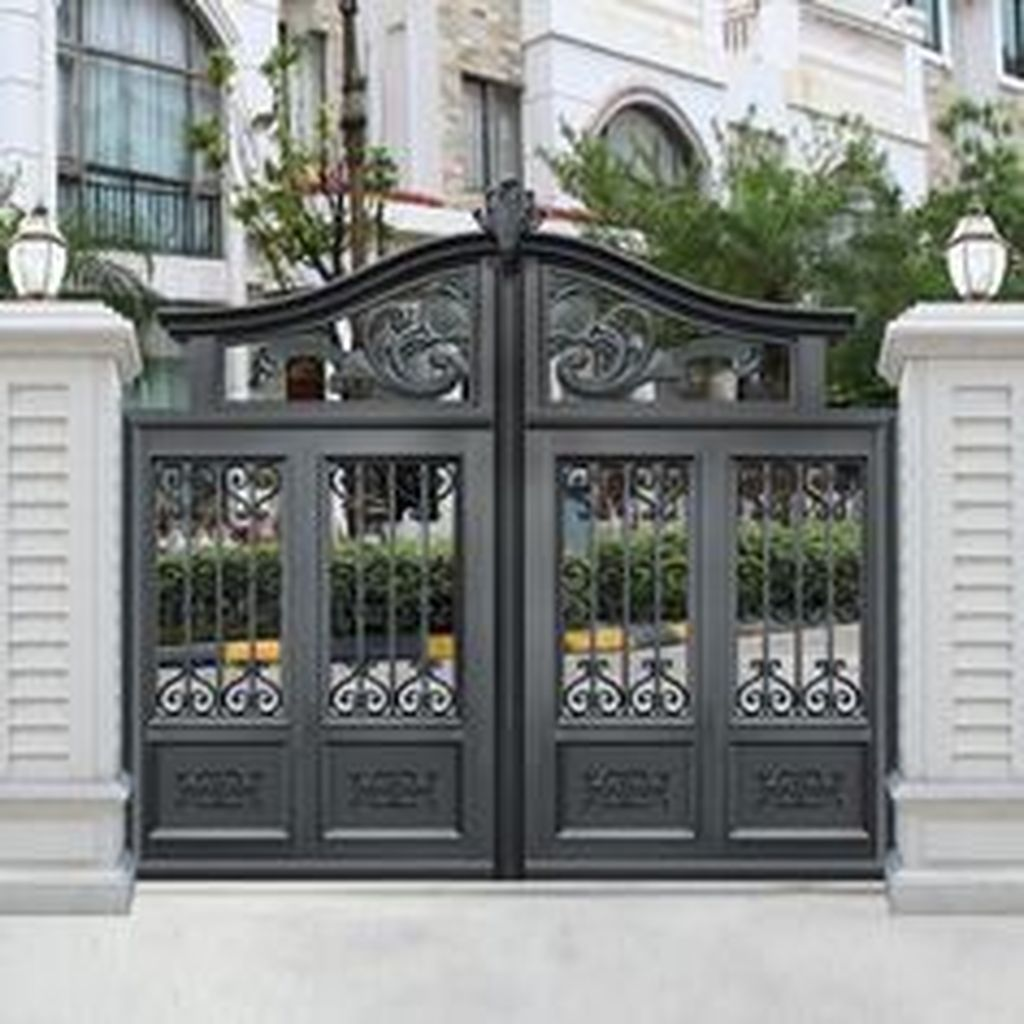 17 Elegant Gates To Transform Your Yard Into Inviting Place: 45 Affordable And Modern Backyard Fence Design Ideas