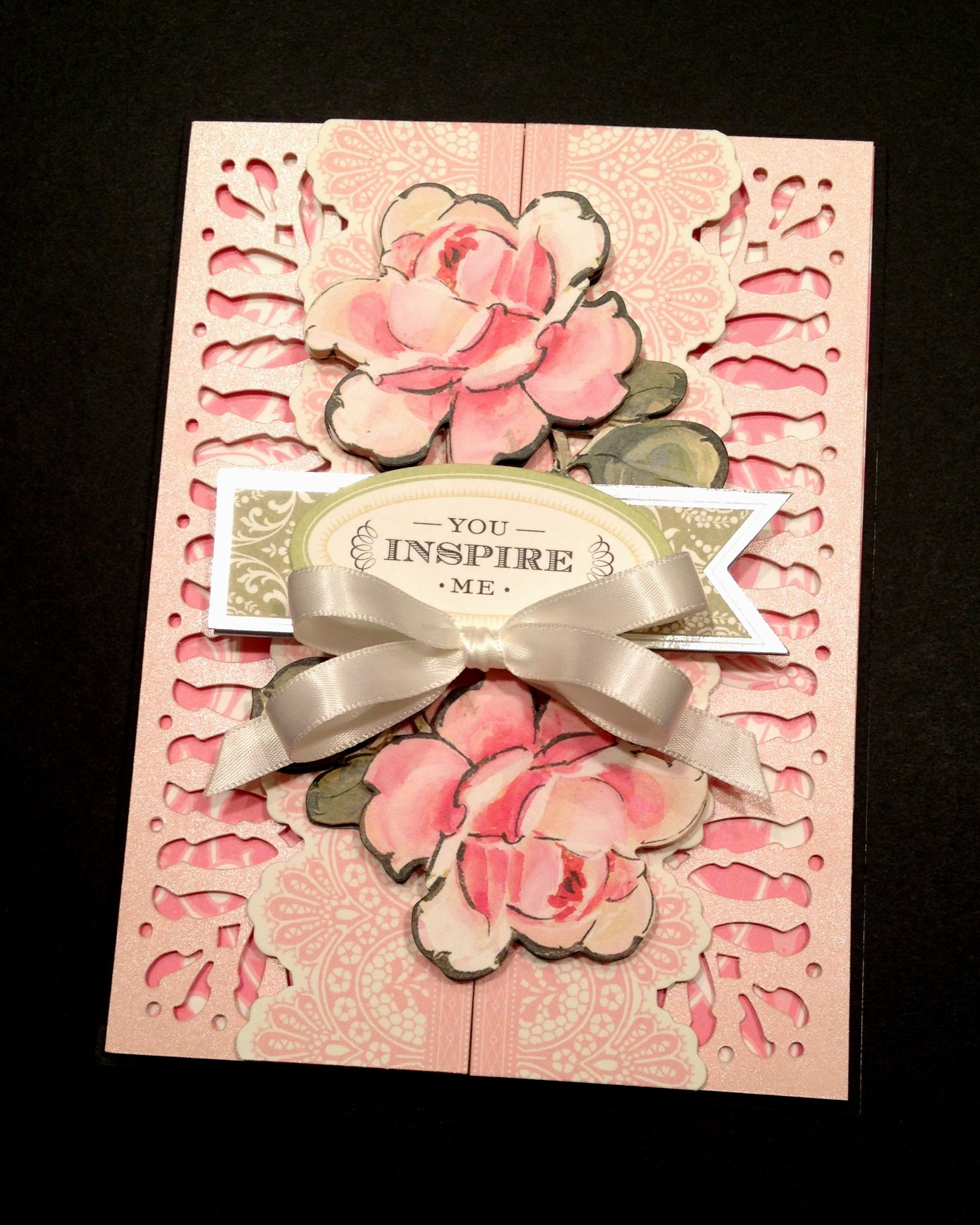 Pin By Pink Petal Papercrafts On My Handmade Anna Griffin Cards