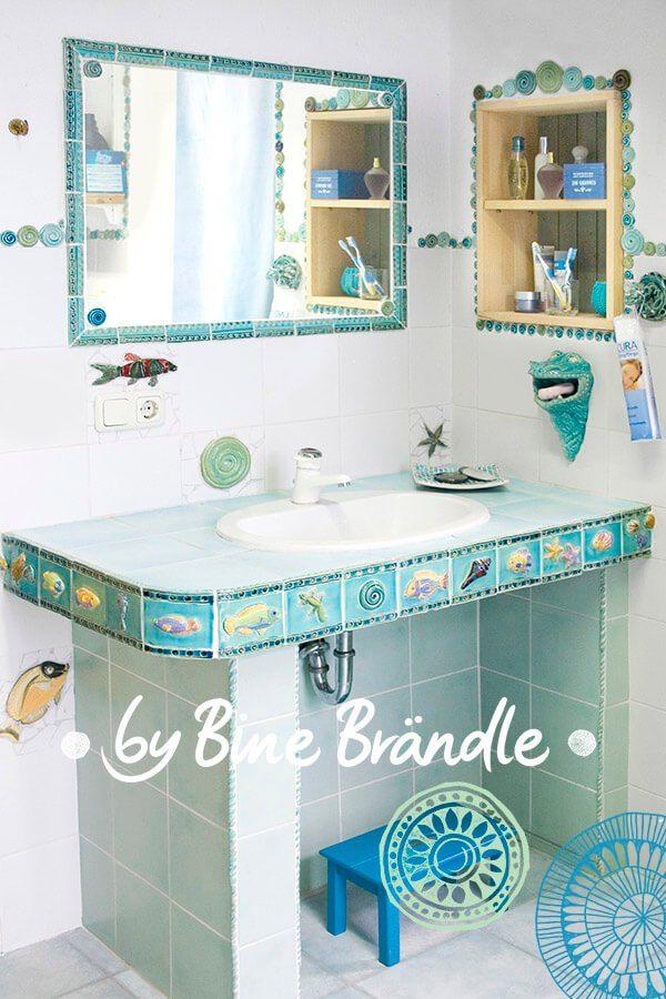 Topfern Badezimmer Design Badgestaltung Badezimmer Mosaik