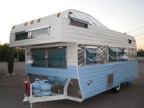 vintage frolic camper